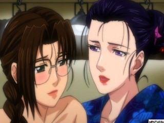 Hentai lezzy girls fazendo sexo e se registra