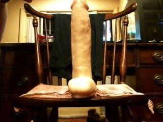 Enorme plug anal