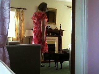 Johanna na casa de férias