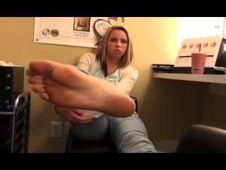 Garota do pé