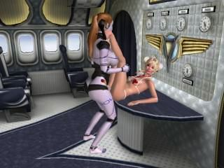 3d android sexo lésbicas fodendo 02