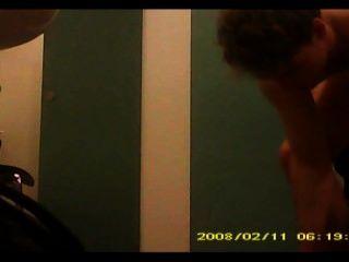 Câmera escondida no vestiário