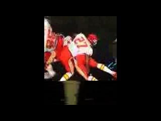 Nfl jogadores fodendo duro até que eles marc um touchdown