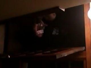 Sexo sujo nas escadas