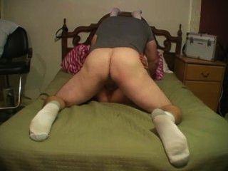 Squirting milf e sexy homem recebendo seu freek em !!!