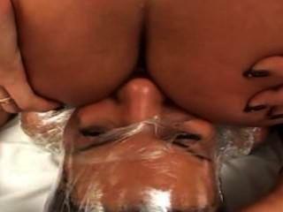 Fart bondage plástico victoria sanchez