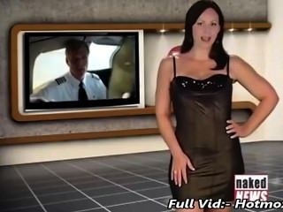 Victoria sinclair presente american airlines em notícia despida hotmoza.com