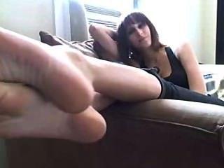 Lamber meus pés fedorentos