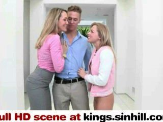 Mamã grande do tit e seu dauther foda o guy afortunado junto kings.sinhill.com
