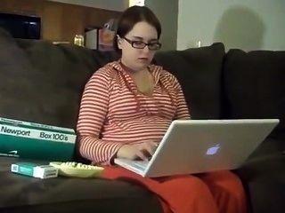 16 semanas de gravidez newport mulher fumando.