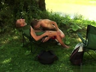 Sexy papai acidente anal