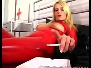 Fumar látex vermelho
