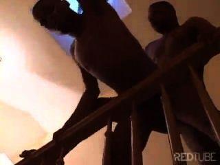 Sexo nas escadas