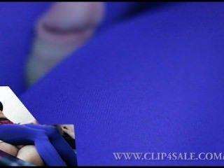 Meia-calça encaixe nylon perna trabalho