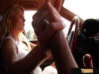 Meu ex gf empurra-me ao dirigir