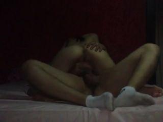 Mexicano com mamas grandes fodendo bf
