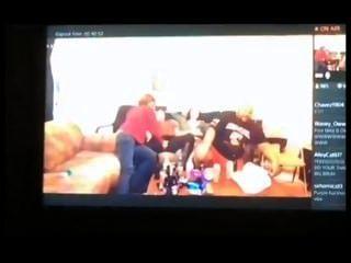 Diversão em família (uma gravação de firends)