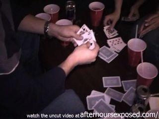 Real, meninas, tocando, tira, pôquer, hotel