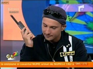 Daniela crudu 14 09 09 espectáculo de tv