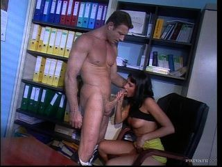 Sophie evans escritório fuck