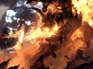 Orc é fodido por anão