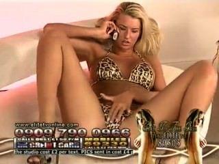 D @ nica thrall hottest leopardo bikini em noites de elite