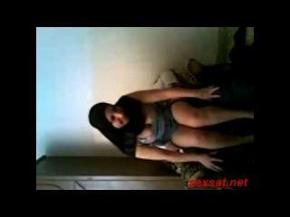 Virgem arabe egípcia fodido em seu anal
