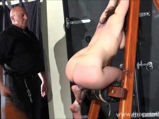 Spanked amador slavegirl beauvoirs hellpain chicoteando e dungeon estrita bd