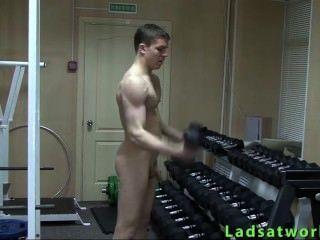 Esporte heterossexual desnudo