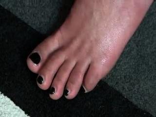 Cum em pés em saltos