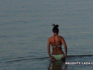 Meu swimsuit macio molhado
