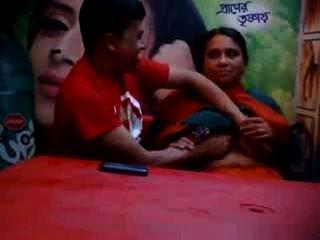 Bangladeshi, maduro, batota, esposa, amante, alimento, café