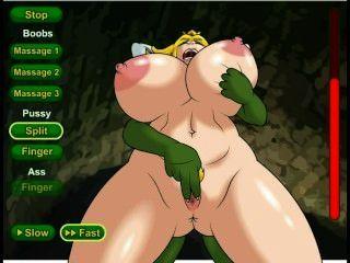 Princesa cadela hentai sexo jogo (nintendo)