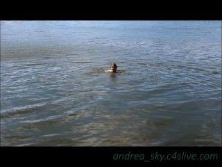 Skinny, mergulhar, parque, andrea, céu
