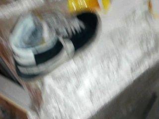 Mijar em amigos sapatos (nike blazer)