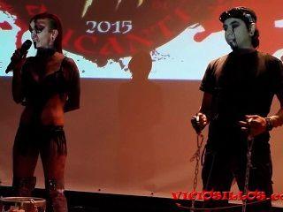 Alexia doll martyn e martir fakir show no festival de terror por viciosillos