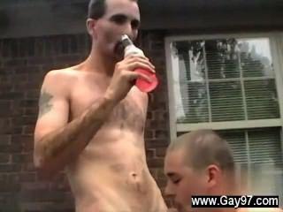 Sexy homens joe fica um grande pau em seu burro