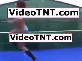 Mulheres chinesas wrestling sexy nu completo 201