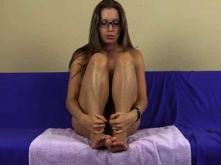 Joi lelu amor cuspir lamber pés fetiche pé