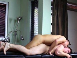 Massagem mesa esfregar marko lebeau \u0026 samuel pedra