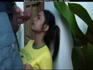 Hot brazilian suck fattest galo e facial