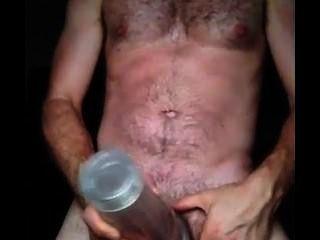 Cumming de meu fleshlight