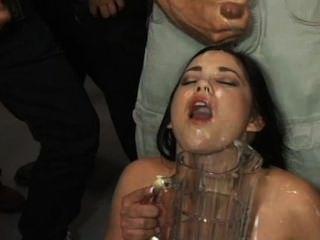 Sextreme, bukkake engolir # 35