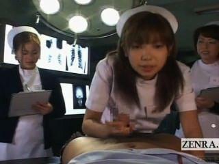 Subtitulado pov japonês enfermeiras hospital oral sexo seminário