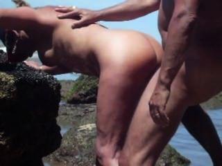 Casado fuck casal pela praia