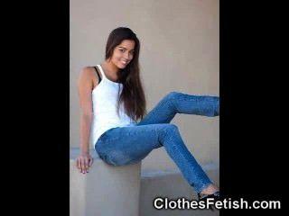 Hot asses em jeans sexy!
