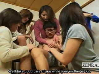 Subtitulado japonês milfs e pumas cfnm estudante harém