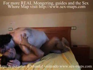Prostituta espanhola fode seu cliente feio