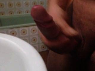 Pajeandome no banheiro
