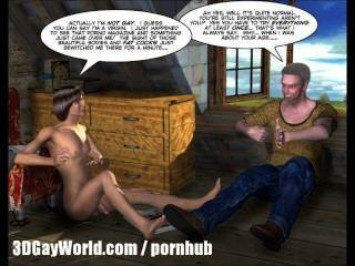 Quarto para alugar 3d animado gay quadrinhos de desenhos animados ou garoto da faculdade sexo pela primeira vez